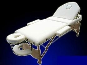 Masážní stůl DS03 béžový 3-zónový