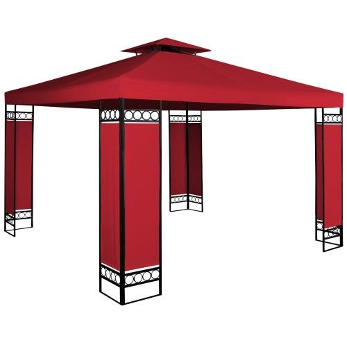 Altánok Pavilón Lorca 3x3m červená