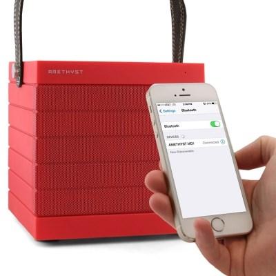 Amethyst MD1 bezdrátový reproduktor pro telefony s Bluetooth a NFC