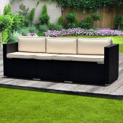 Ratanová zahradní postel STELA 029