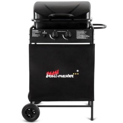 Plynový zahradní GRIL Broil-Master Barbecue BBQGL001 černá