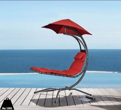 Závěsné houpací lehátko Vivere Original Dream Chair M01 červená
