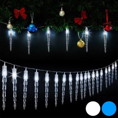 Vánoční svítící rampouchy, venkovní 80LED