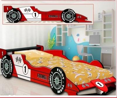 Signal ROBERT11 dětská postel FORMULE 1 červená