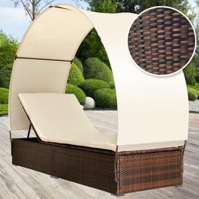 Ratanová zahradní postel DANIELA RTLS03