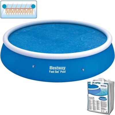 Solární krycí plachta na bazén Ø457 cm