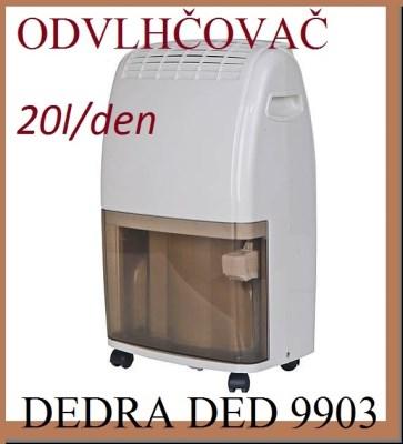 Odvlhčovač Dedra DED 9903 20l / den