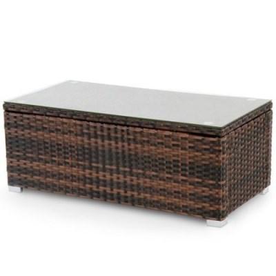 Ratanový stolek RT06 hnědý