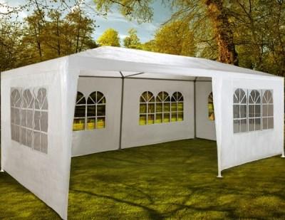 Zahradní párty stan Deuba bílý, 3 x 6 m