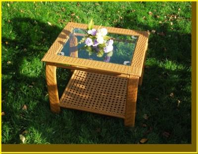 Ratanový stolek FALKO