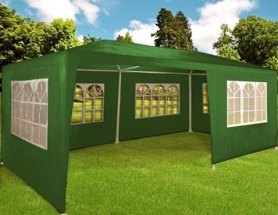 Zahradní párty stan Deuba zelený, 3 x 6 m