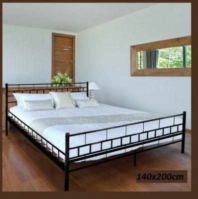 Kovová postel Melfin ZITA 002 140x200cm