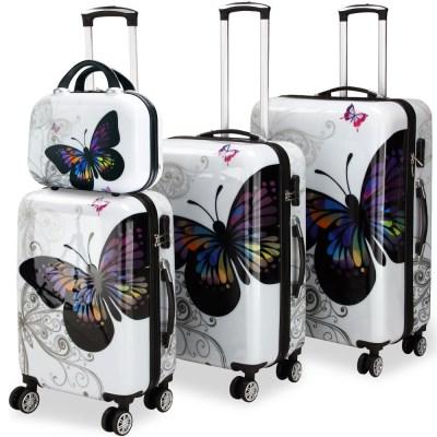 COMFORT ABS cestovní kufry motýl
