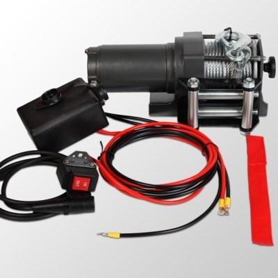 Elektrický lanový naviják ESW D12 varianta 1360kg