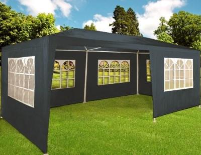 Zahradní párty stan Deuba šedý, 3 x 6 m