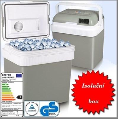 CHladící box mini lednice CAMP02 24 L šedá