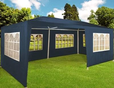 Zahradní párty stan Deuba modrý, 3 x 6 m