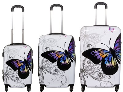 COMFORT ABS DEU03 cestovní kufry motýl