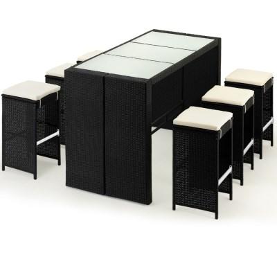 Zahradní ratanový nábytek Bar set Panda