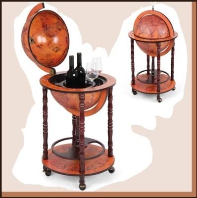 Barový stolek Globus GLBR005R