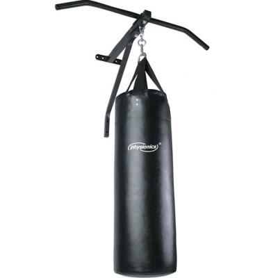 Boxovací pytel PHYSIONICS 19kg s hrazdou na posilování SADA 2v1