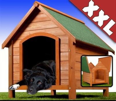 Leopet Bouda pro psy dřevěná