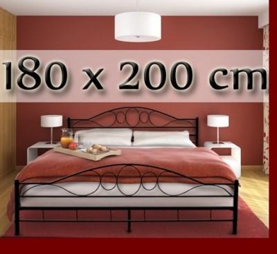 Postel kovová Melfin BETA 002 180x200cm