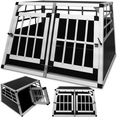 DEU874 cestovní box, přepravka pro psy XXL 90x69x50cm