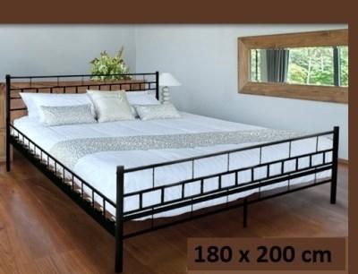 Kovová postel Melfin ZITA 003 180x200cm