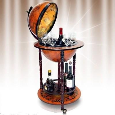 Barový stolek Globus GLBR01R > varianta 100x45x45cm