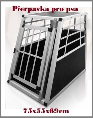 LEOPET cestovní box, přepravka pro psa 75x55x69cm
