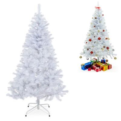 Umělý vánoční stromeček Jedle 180 cm bílá