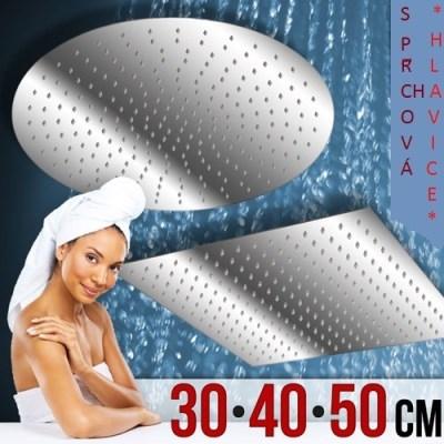 Sprchová hlavice AquaMarin RDQ03 - nerez 50x50cm