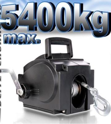 Elektrický lanový naviják ESW D10 varianta 5400kg