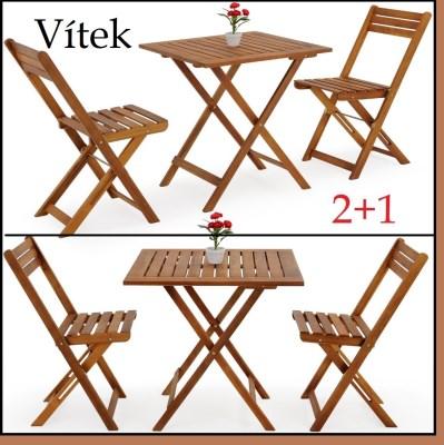 Zahradní nábytek VITEK 2+1