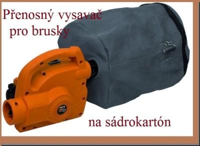 PANSAM přenosný vysavač k bruskám na sádrokarton A140202